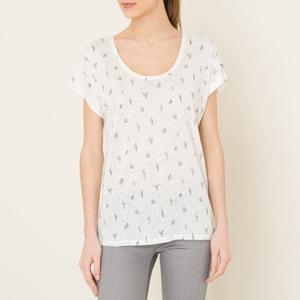 T-shirt lin HARRIS WILSON