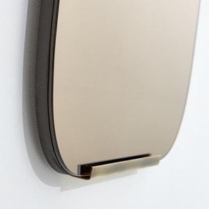 Przydymione lustro z mosiądzu wys. 72,5 cm, Dialect AM.PM.