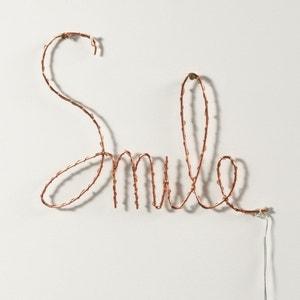 Palabra Smile luminosa, Ojie La Redoute Interieurs