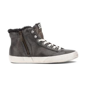 Zapatillas de caña alta y cremallera CLINTON PEPE JEANS