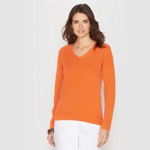 V-Neck Cashmere-Soft Jumper/Sweater ANNE WEYBURN