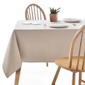 Plain Coated Cotton Tablecloth SCENARIO
