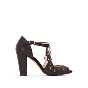 Geperforeerde sandalen met hoge hak MADEMOISELLE R