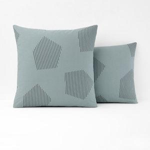 Funda de almohada de percal 100% algodón HEXA La Redoute Interieurs