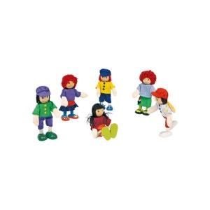 Legler - Petites poupées souples «6 amis» NO NAME