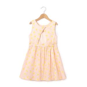 Bedrukte jurk zonder mouwen 3-12 jr La Redoute Collections