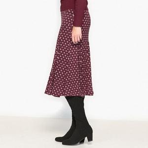 Draping Printed Skirt ANNE WEYBURN