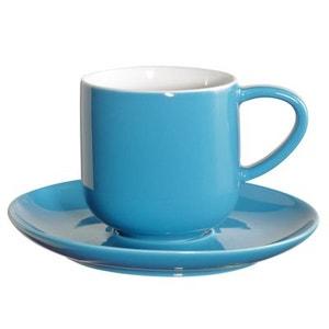 2 tassess à expresso turquoise en porcelaine - ASA SELECTION