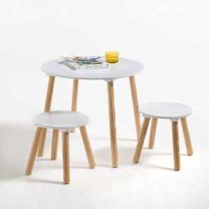 Table et 2 tabourets enfant Jimi La Redoute Interieurs