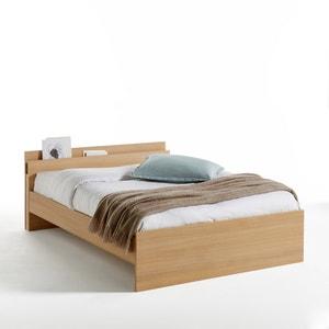 Lit avec tête de lit rangement SABIL La Redoute Interieurs