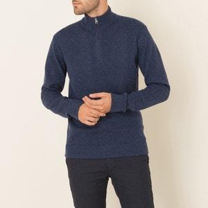 Pullover, Stehkragen mit Reissverschluss HARTFORD