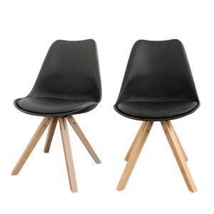 Lot de 2 chaises design Ormond Wood DRAWER