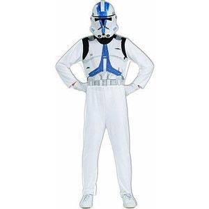 Déguisement Star Wars : Clone Trooper : 8/10 ans RUBIE S