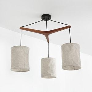 Suspension, bois et lin, Watford La Redoute Interieurs