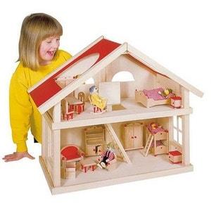 Maison de poupées à  2 niveaux GOKI