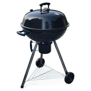 Barbecue charbon de bois Ø57cm Georges noir, récupérateur de cendres, grille chr ALICE S GARDEN
