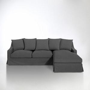 Canapé d'angle coton 1/2 natté, convertible confort excellence, Evender La Redoute Interieurs