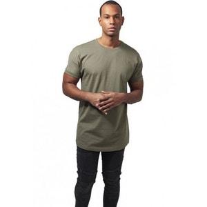 T-shirt long à manches retroussées URBAN CLASSICS