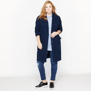 Masculine-Style Denim Coat CASTALUNA