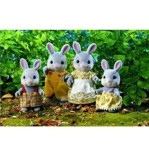 Sylvanian Family 3134 : Famille lapin gris SYLVANIAN FAMILIES