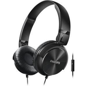 Casque audio supra-auriculaire PHILIPS SHL3065 noir PHILIPS
