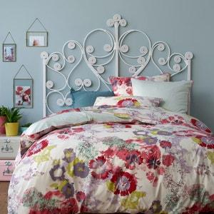 Psyche Flower Cotton Duvet Cover La Redoute Interieurs