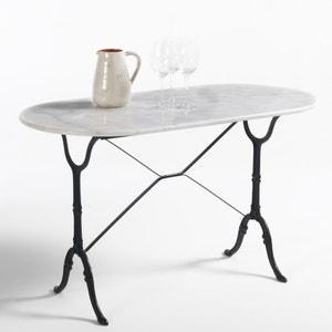 Table de jardin ovale, plateau marbre, Redville La Redoute Interieurs