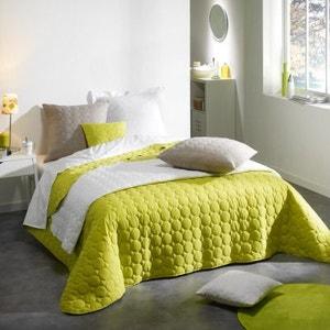 couvre lit vert la redoute. Black Bedroom Furniture Sets. Home Design Ideas