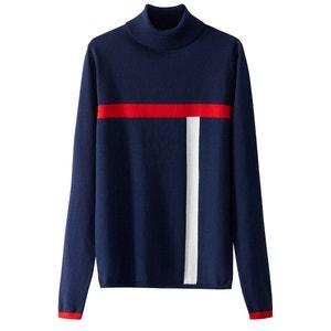 Пуловер с воротником-стойкой La Redoute Collections