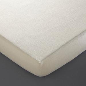 Ochraniacz na materac z moltonu, z czystej bawełny biologicznej La Redoute Interieurs