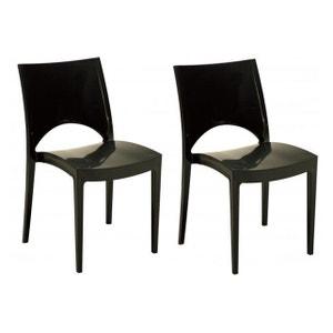 chaise de cuisine grise la redoute. Black Bedroom Furniture Sets. Home Design Ideas