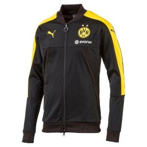 Sweat zippé en polyester Supporter BVB PUMA