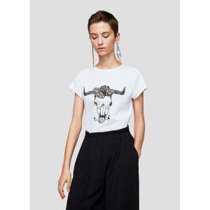T-shirt message imprimé MANGO