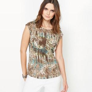 Printed Jersey T-Shirt ANNE WEYBURN
