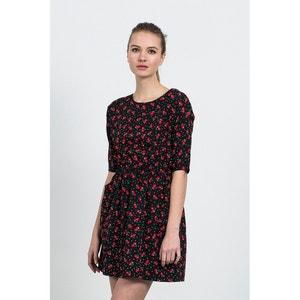 CASINO DRESS Short-Sleeved Printed Skater Dress COMPANIA FANTASTICA
