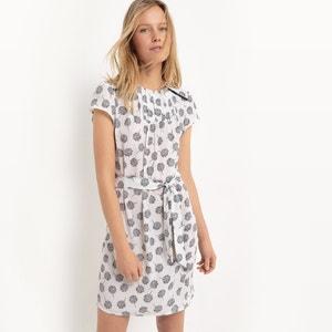 Short Dress with Belt R studio
