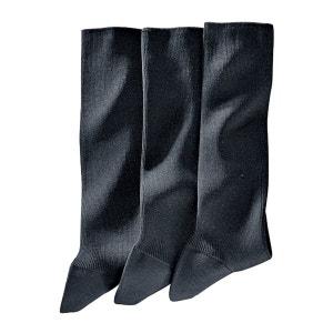 Chaussettes (lot de 3) 85 % fil d'Ecosse R Reference