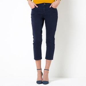 Pantaloni a pinocchietto 5 tasche, cotone stretch R essentiel