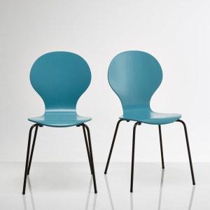 Lote de 2 cadeiras empilháveis, Watford La Redoute Interieurs