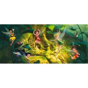 Poster géant Fée Clochette L'Arbre à poussière de fées Disney 202X90 CM WALLTASTIC
