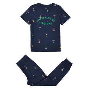 Pyjama, bedruckt, Baumwolle, 2-12 Jahre La Redoute Collections