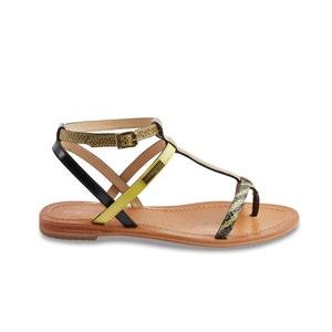 Baie Flat Leather Sandals LES TROPEZIENNES PAR M.BELARBI