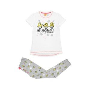 Girls' 2-Piece Pyjamas, 4-8 Years LES MINIONS
