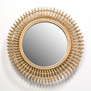 Miroir rotin Tarsile, rond Ø60 cm AM.PM