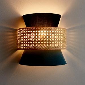 Wandlamp in rotan DOLKIE