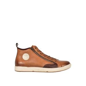 Hoge sneakers in leer Jayer