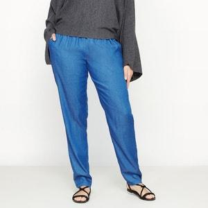 Spodnie z pięknie układającego się materiału CASTALUNA