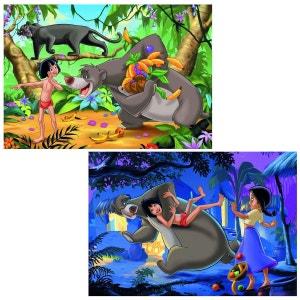 Puzzle 2 x 24 pièces - Les amis de Mowgli/Le livre de la jungle II RAVENSBURGER