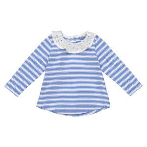 T-shirt rayé à col 0 mois - 3 ans Oeko Tex La Redoute Collections