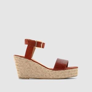 Scalloped Wedge Sandals R essentiel